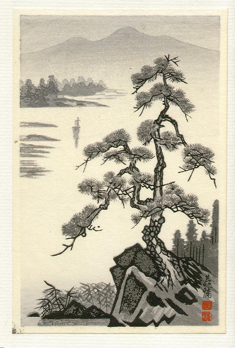 Imoto Tekiho: Lake and...