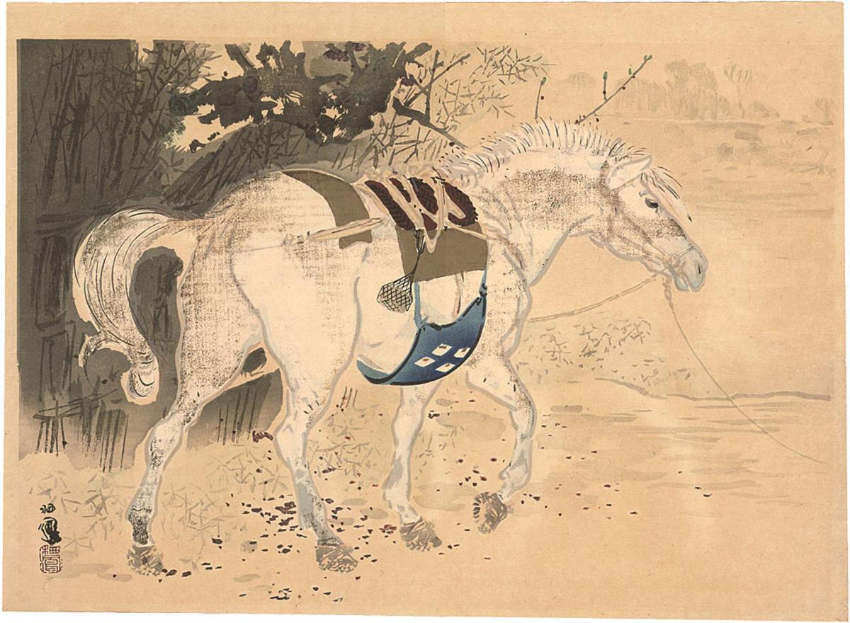 Horse - Japanese Art O...