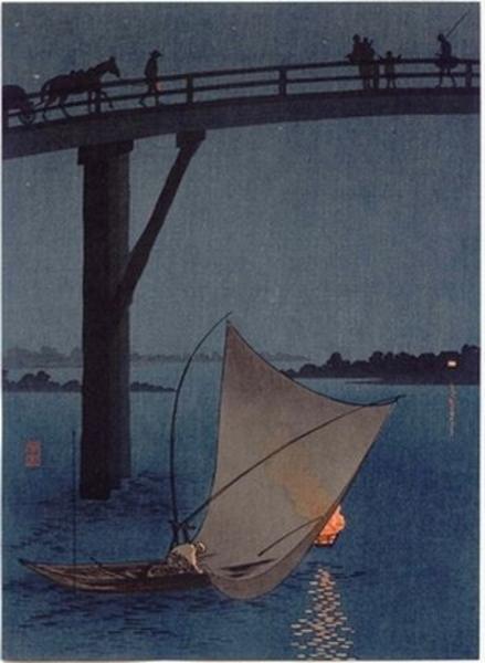 Yoshimune arai a fishing boat japanese art open for Japanese fishing boat