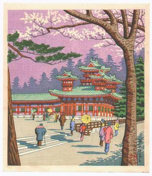 Fujishima Takeji: Heian Shrine - Japanese Art Open Database
