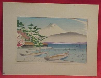 Fujishima Takeji: Taken from Izu Mito - Japanese Art Open Database