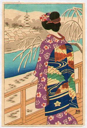藤島武二: Maiko - Japanese Art Open Database