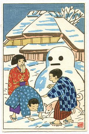 藤島武二: Snow Man - Japanese Art Open Database