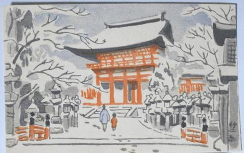 Fujishima Takeji: Kasuga Shrine - Japanese Art Open Database
