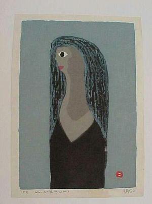 Azechi Umetaro: Black Hair - Japanese Art Open Database