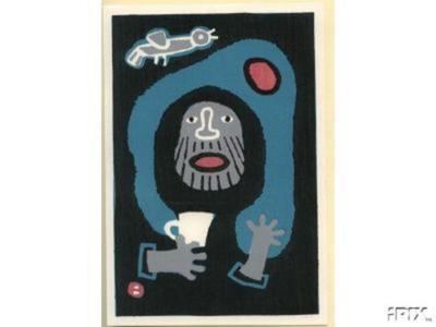 Azechi Umetaro: Repose - Japanese Art Open Database