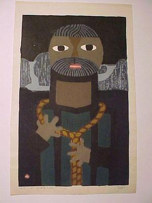 Azechi Umetaro: Ziel- Pickel - Japanese Art Open Database