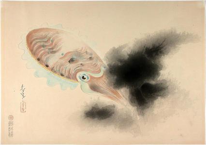 Bakufu Ohno: Squid - Japanese Art Open Database