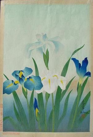 Bakufu Ohno: Iris - Japanese Art Open Database