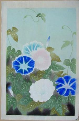 Bakufu Ohno: Morning Glory - Japanese Art Open Database