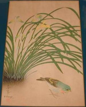 大野麦風: Unknown, bird and plant - Japanese Art Open Database