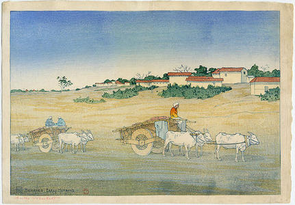 Bartlett Charles: Benaras, Early Morning - Japanese Art Open Database