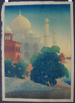 Bartlett Charles: Taj Mahal Sunset - Japanese Art Open Database