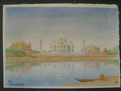 Bartlett Charles: Taj Mahal at Dawn - Japanese Art Open Database