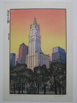 Paul Binnie: New York Sunset - Japanese Art Open Database