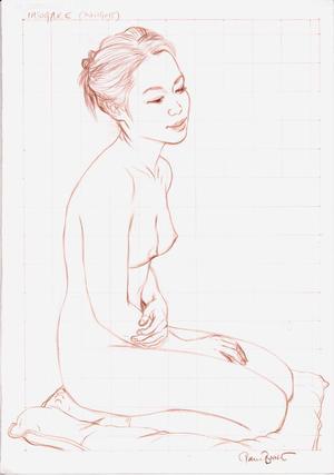 Paul Binnie: Twilight- drawing — Tasogare - Japanese Art Open Database