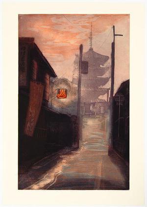 Brayer Sarah: Bathtime Twilight - Japanese Art Open Database