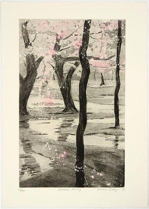 Brayer Sarah: Blossom Flurry - Japanese Art Open Database
