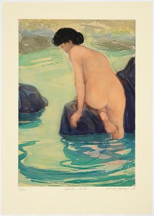Brayer Sarah: Celadon Bath - Japanese Art Open Database