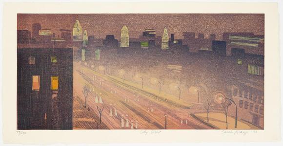 Brayer Sarah: City Light - Japanese Art Open Database