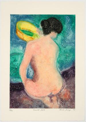 Brayer Sarah: Emerald Bath - Japanese Art Open Database
