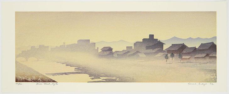Brayer Sarah: River Mist - Japanese Art Open Database