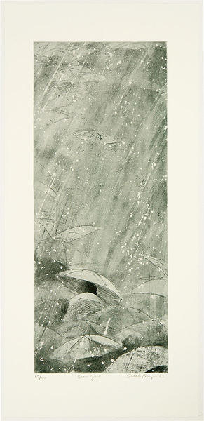 Brayer Sarah: Snow Gust - Japanese Art Open Database