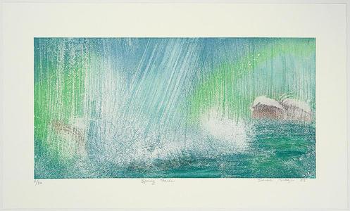 Brayer Sarah: Spring Falls - Japanese Art Open Database