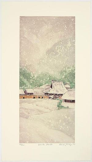Brayer Sarah: Winter Monks - Japanese Art Open Database