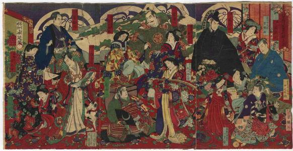 豊原周延: Unknown, kabuki - Japanese Art Open Database