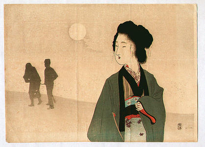 Tomioka Eisen: Silhouttes - Japanese Art Open Database