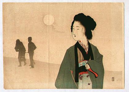 富岡英泉: Silhouttes - Japanese Art Open Database