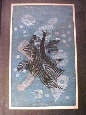 北岡文雄: Birds Dance - Japanese Art Open Database