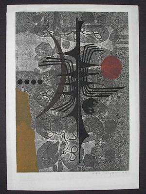 北岡文雄: Unknown, abstract 1 - Japanese Art Open Database