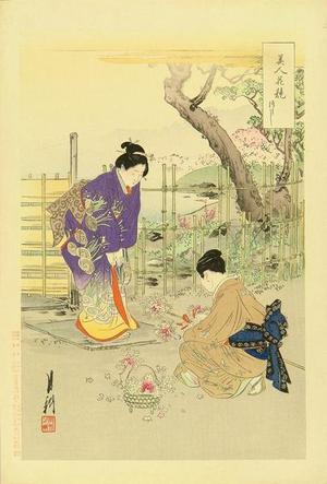 Ogata Gekko: Azalea — つつじ - Japanese Art Open Database