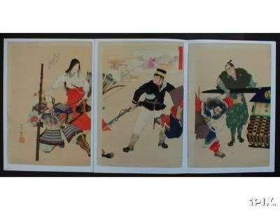 Adachi Ginko: SINO JAPANESE WAR - Japanese Art Open Database