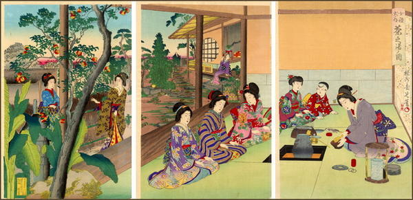 Adachi Ginko: Tea ceremony - Japanese Art Open Database