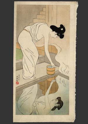 橋口五葉: Hot Springs Inn - Japanese Art Open Database