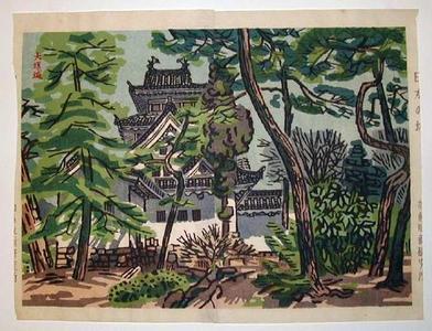 橋本興家: Ogaki Castle - Japanese Art Open Database