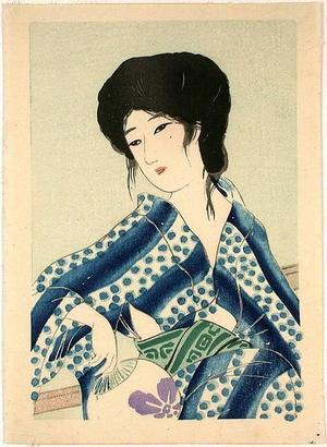 Hirezaki Eiho: Bijin 1 - Japanese Art Open Database