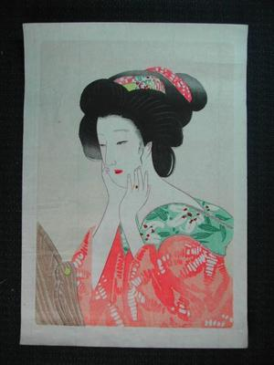 Hirezaki Eiho: Bijin 2 - Japanese Art Open Database