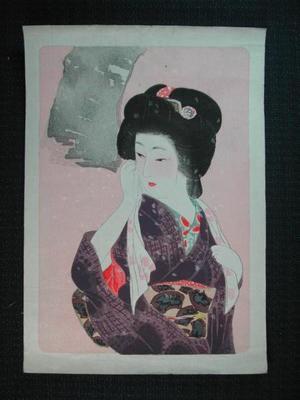 Hirezaki Eiho: Snow - Japanese Art Open Database