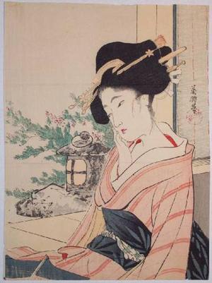 Hirezaki Eiho: Beauty and Garden - Japanese Art Open Database