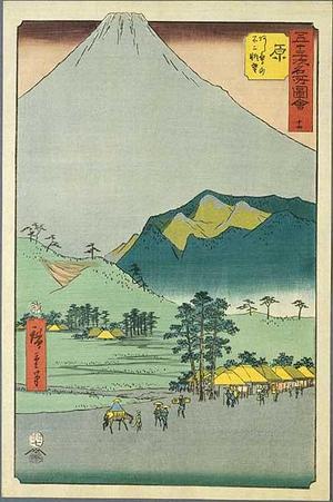 Utagawa Hiroshige: Hara - Japanese Art Open Database