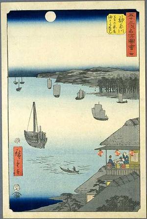Utagawa Hiroshige: Kanagawa - Japanese Art Open Database