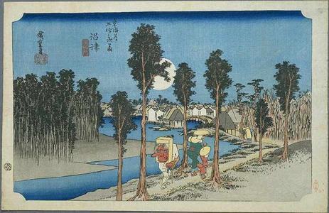 Utagawa Hiroshige: Namazu - Japanese Art Open Database