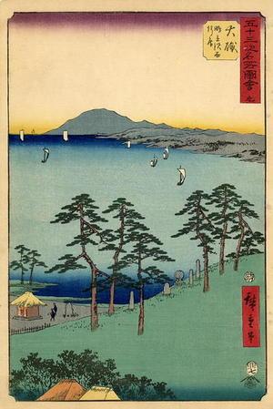 Utagawa Hiroshige: Oiso - Japanese Art Open Database
