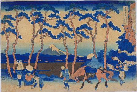 Katsushika Hokusai: Hodogaya on the Tokaido Highway — 東海道程ヶ谷 - Japanese Art Open Database