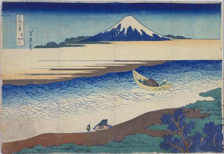 葛飾北斎: The Tamagawa River in Musashi Province — 武州玉川 - Japanese Art Open Database