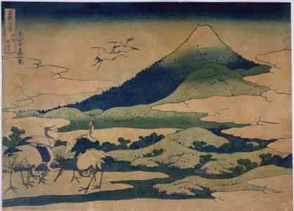 Katsushika Hokusai: Umezawa in Sagami Province — 相州梅沢左 - Japanese Art Open Database